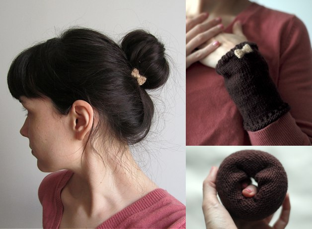 Bun Bow A Knitted Hairstyle Laylock Knitwear Design - Hairstyle bun with bow